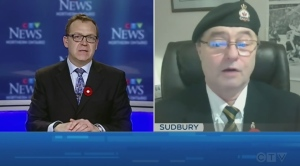 With remembrance day coming up CTV's Tony Ryma speaks with Rick Smith a veteran and member of the lockerby legion branch 564 in Sudbury.