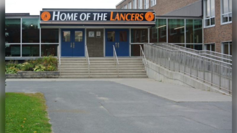 Lasalle Secondary School in Sudbury, Ont. (Rainbow District School Board)