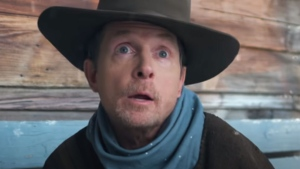 Michael J. Fox appears in a new music video from Lil Nas X. (Lil Nas X/YouTube)