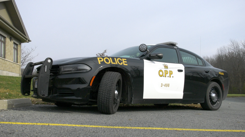 Undated photo of an Ontario Provincial Police cruiser. (Nate Vandermeer / CTV News Ottawa)