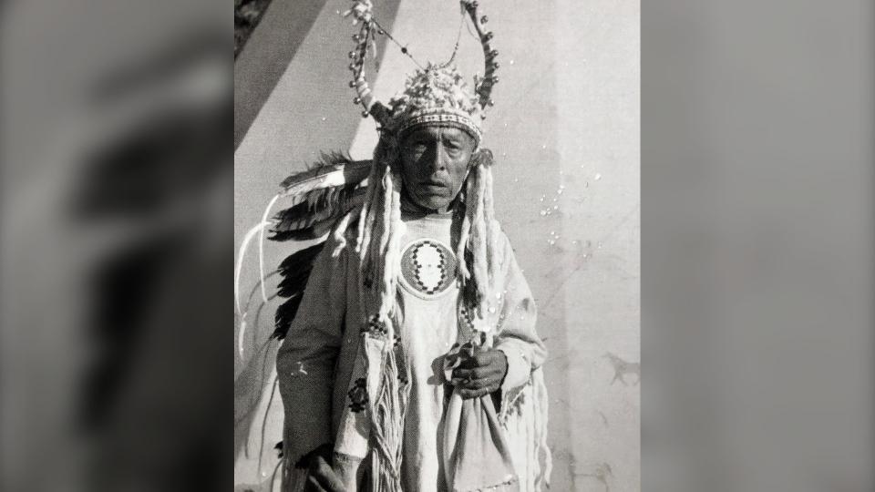 Boy Chief Siksika