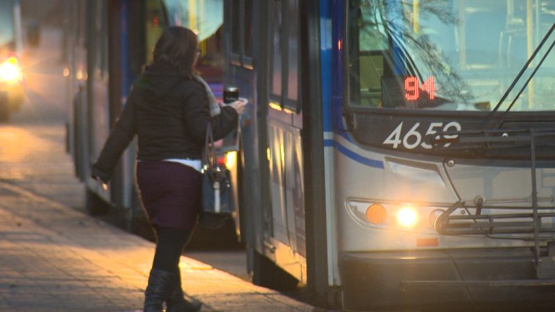 ETS has introduced a new measure to make women feel safer on transit. (CTV Edmonton)