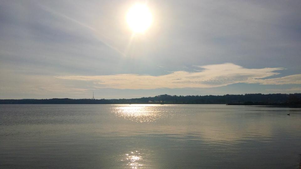 Sunshine over Lake Simcoe