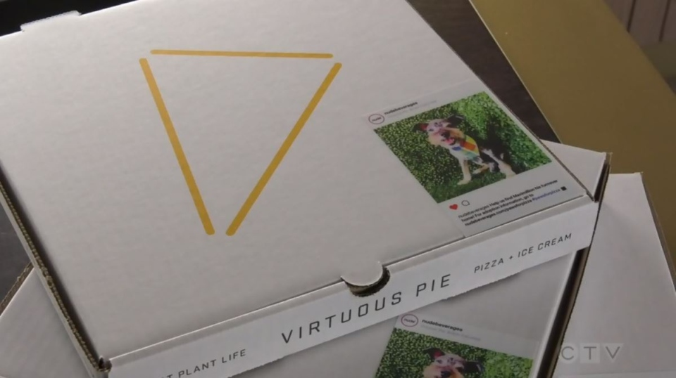 Victoria's Virtuous Pie and B.C.-based Nude Vodka Soda are partnering up to raise awareness and donations for a local animal rescue organization: (CTV News)