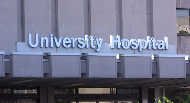 University Hospital in London, Ont. is seen Wednesday, Nov. 11, 2020. (Brent Lale / CTV News)