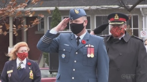 Legion members, dignitaries and the public attended a short Remembrance Day ceremony at the cenotaph. Eric Taschner reports