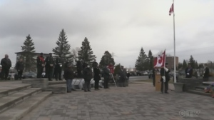Remembrance Day ceremonies in Timmins saw members of the local legion reflect on how people still rely on the Canadian Armed Forces.