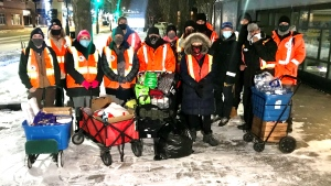 'Spreading good love': Bear Clan Patrol now serving on the streets of Edmonton thumbnail