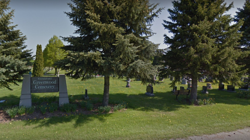 Waterford Greenwood Cemetery (Google Maps)