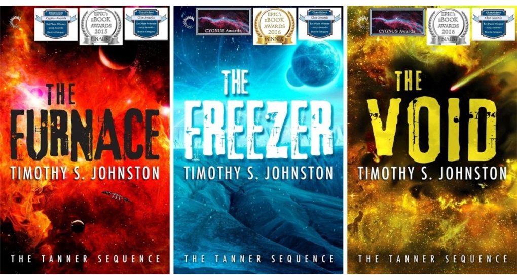 The Furtnace, The Freezer, The Void book covers