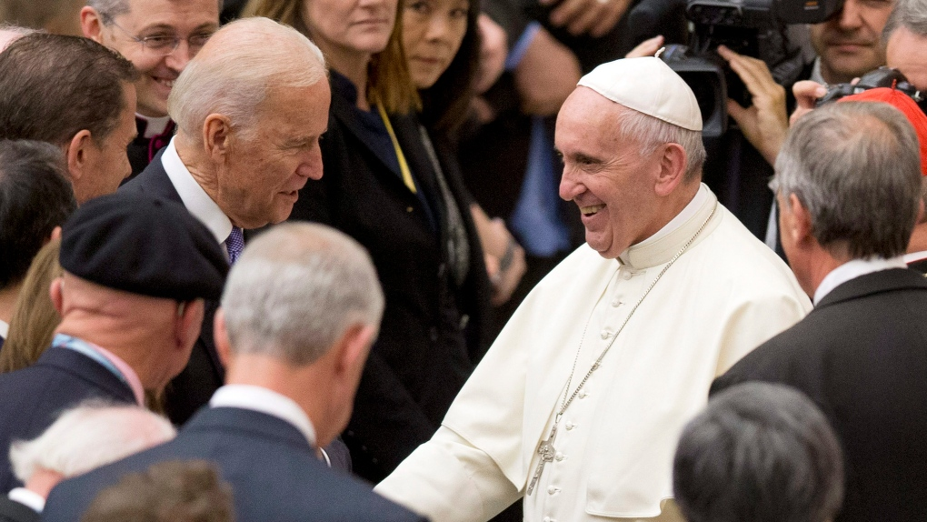 Vatican Calling Pope Congratulates Joe Biden On Election Ctv News