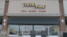 Toys on Fire in Barrhaven. (Ian Urbach/CTV News Ottawa)
