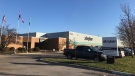 Stryker Medical plant on Adelaide Street in London, Ont. as seen on Thursday, Nov. 12, 2020. (Reta Ismail / CTV News)