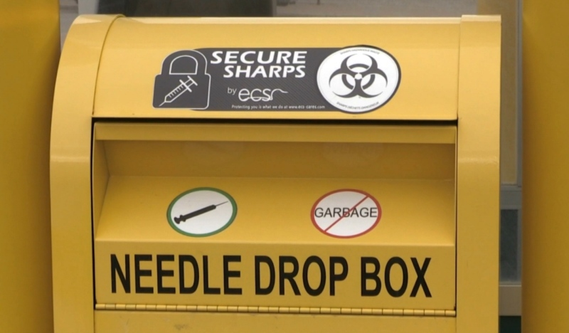 Community Counselling Centre of Nipissing is providing a community sharps bin in North Bay, the group announced Friday. (File)