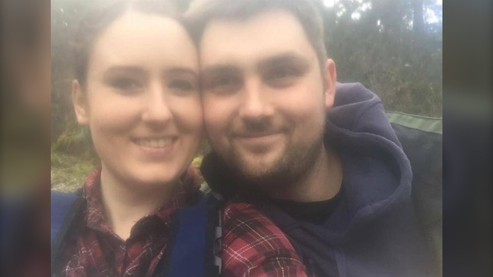 Nanaimo RCMP and search teams are looking for Tamara Sandulak, left, and Cody Martin, right, who were expected to return from a fishing trip on Nov. 11 but have not arrived: (Nanaimo RCMP)