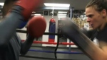 Calgary boxer Kandi Wyatt is back from fighting for the world championship and eager to resume training. Glenn Campbell reports