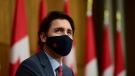 Prime Minister Justin Trudeau provides an update on the COVID pandemic during a press conference in Ottawa on Friday, Nov. 13, 2020. THE CANADIAN PRESS/Sean Kilpatrick