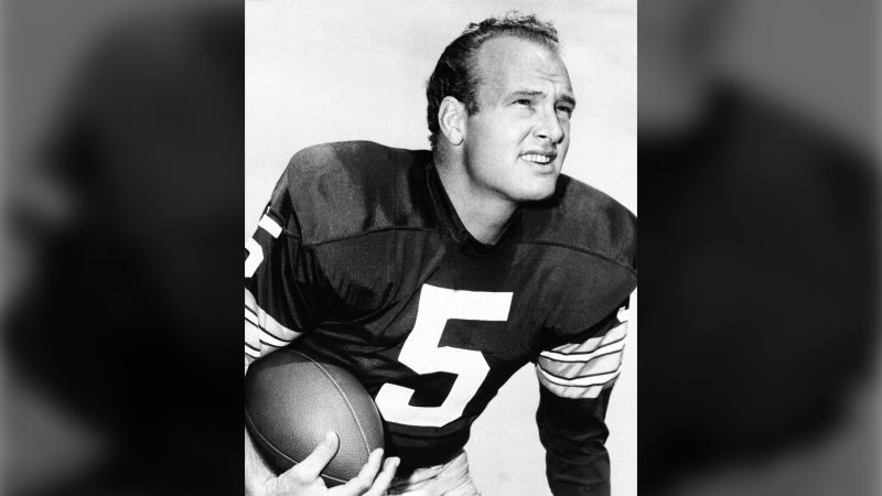 Paul Hornung, of the Green Bay Packers, in an undated photo. (AP Photo, File)