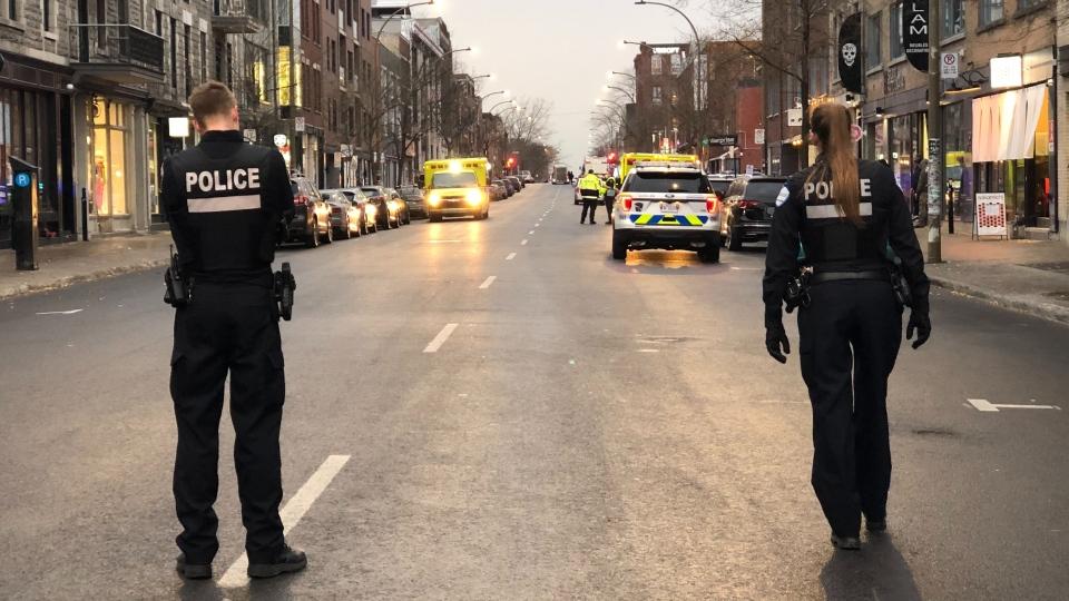 Police operation at Ubisoft