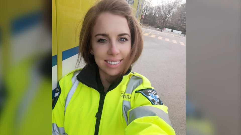 Rachelle Aubichon, a 30-year-old paramedic, never thoguht she'd have long-term effects from COVID-19.