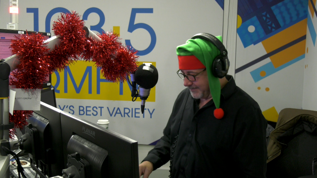 Radio host Ray Grover