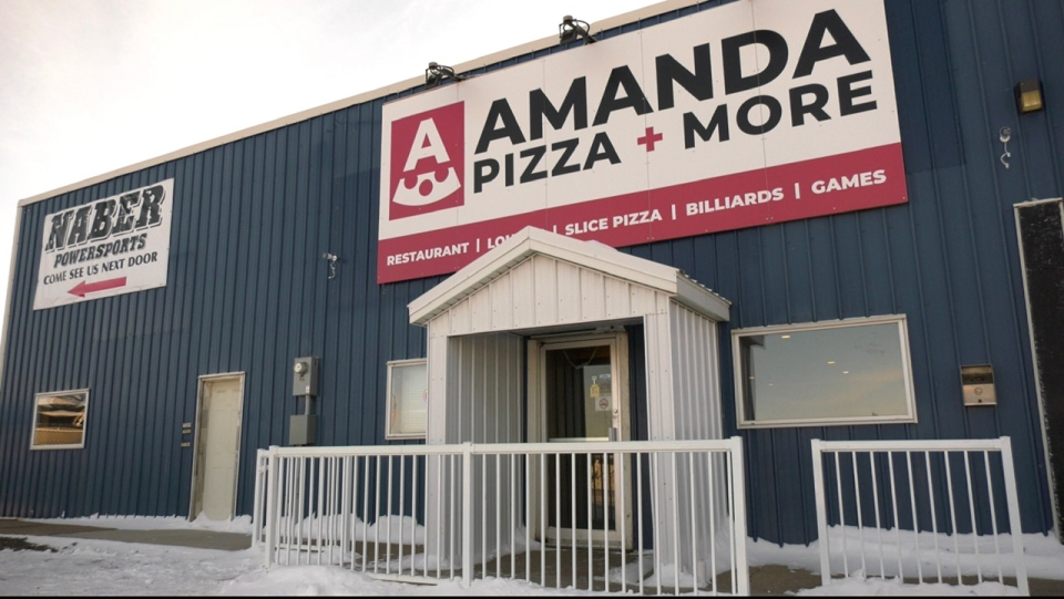 Amanda's Pizza in Shellbrook, Saskatchewan (Lisa R