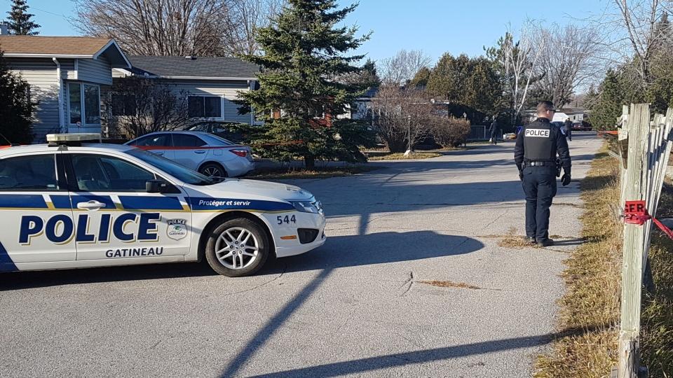Gatineau police suspicious death Nov 14 2020