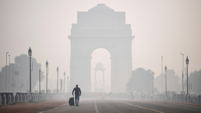 Delhi is infamous as having some of the world's dirtiest air. (AFP)