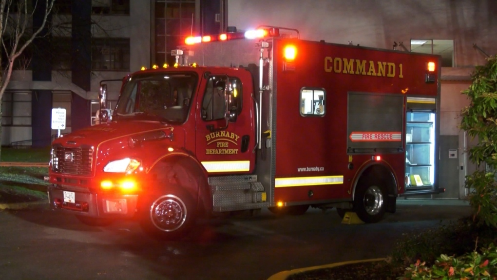 Burnaby Hospital fire