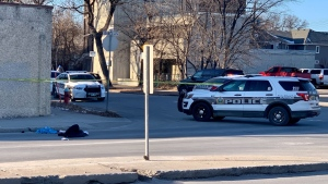 The shooting took place in Winnipeg's Centennial area. (Source: Scott Andersson/CTV News)