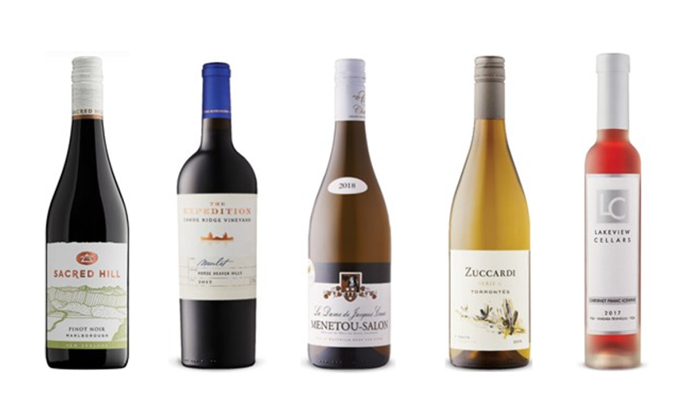 Natalie MacLean's Wines of the Week - Nov. 9, 2020