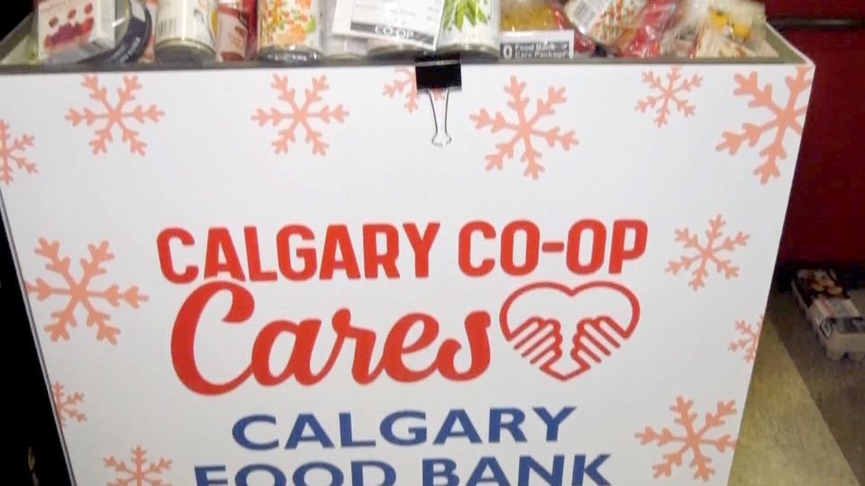 Calgary Coop reimagined its annaul Stuff-a-Bus fundraiser on the weekend because of rising COVID numbers.