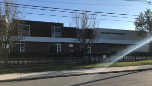 Begley Public School in Windsor, Ont., on Monday, Nov. 16, 2020. (Angelo Aversa / CTV Windsor)