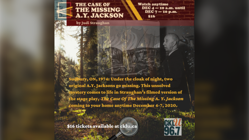 The Case of the Missing AY Jackson, the story of a unsolved Sudbury art theft from 1974. (Supplied)
