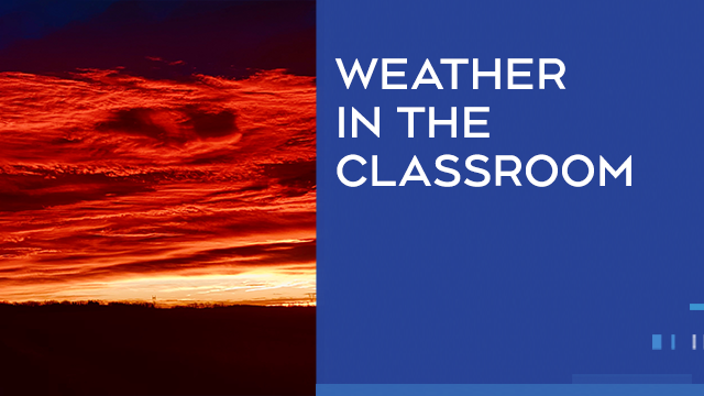 Weather in the Classroom, CTV Calgary