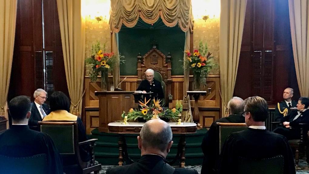 New Brunswick throne speech