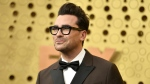 Dan Levy arrives at the 71st Primetime Emmy Awards on Sunday, Sept. 22, 2019, at the Microsoft Theater in Los Angeles. (Richard Shotwell/Invision/AP/CNN)