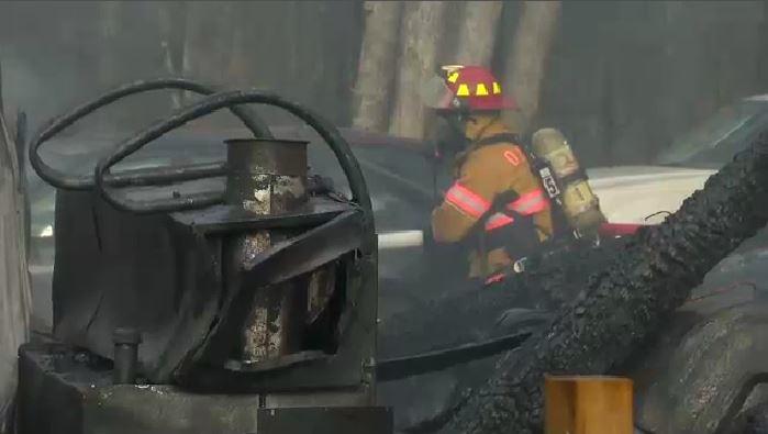 Hebbville fire
