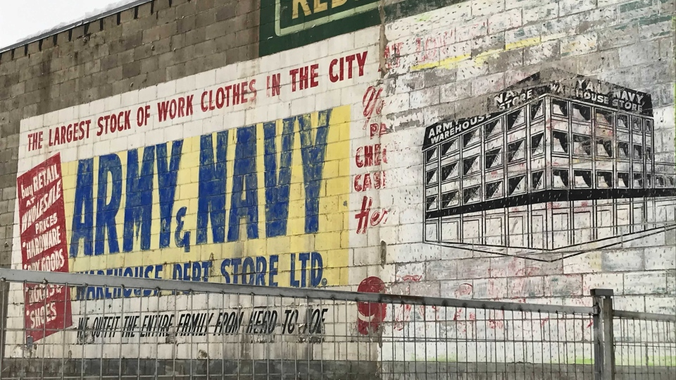 Army & Navy ad, Fort Road, Edmonton