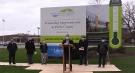 Construction is set to get underway at the West Perth Village seniors' complex in Mitchell, Ont. on Tuesday, Nov. 17, 2020. (Scott Miller / CTV News)