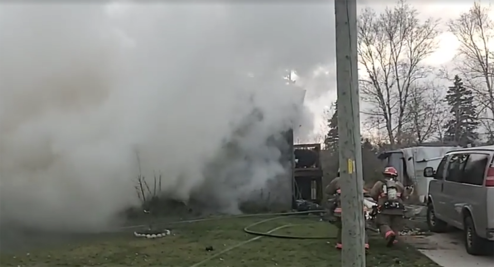 Port Dover house fire