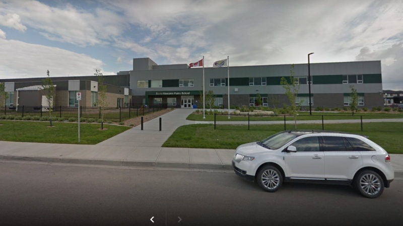 Regina Public Schools is reporting a positive case of COVID-19 in a person at École Wascana Plains School. (Google Maps)