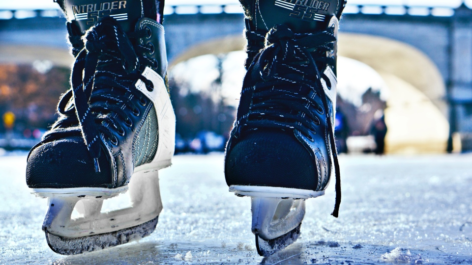 Skating on the Rideau Canal Skateway in Ottawa, Ont. (Photo by Matthew Fournier of Unsplash)