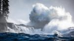 Massive waves are seen crashing against the west coast of Vancouver Island, near Port Renfrew: Nov. 15, 2020 (TJ Watt Photography)