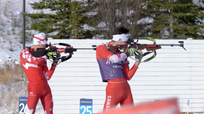 Despite COVID cases surging, Canada is sending a biathlon team to compete on the World Cup circuit in Europe.