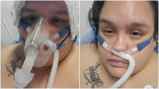 Abbotsford woman urges people to follow rules after COVID-19 hospitalization