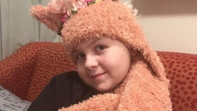 Sarah Hamby, 11, of Beeton Ont. is seen in this photo supplied to CTV News.