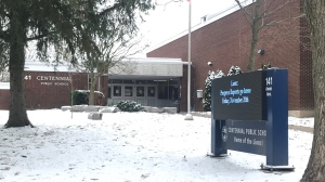 Centennial Public School seen here on Nov. 18, 2020. (Dan Lauckner / CTV Kitchener)