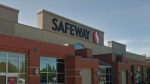 Two employees at this Safeway location in St. Albert, Alta. have tested positive for COVID-19, the company reported on Nov. 18, 2020. (Photo: Google Street View)