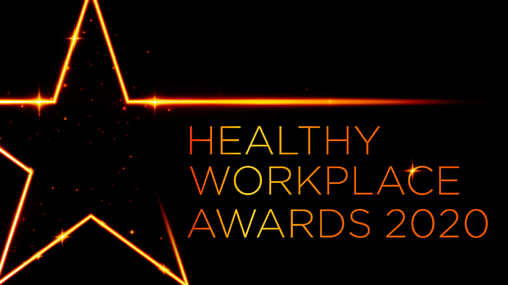 Healthy Workplace Awards poster
